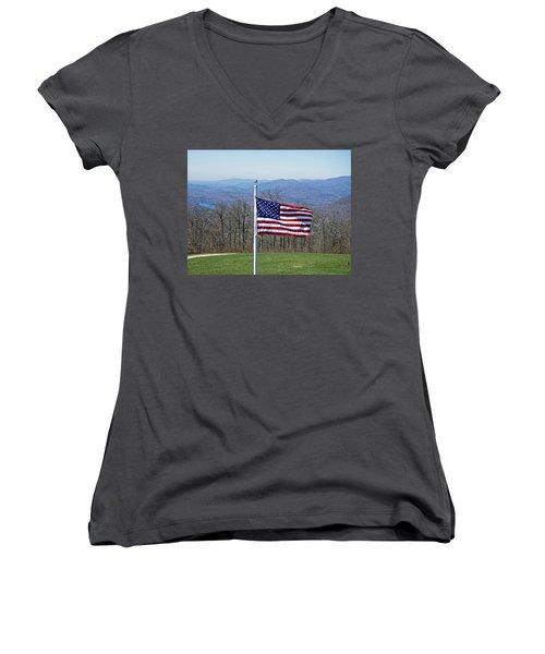 Majesty Women's V-Neck T-Shirt