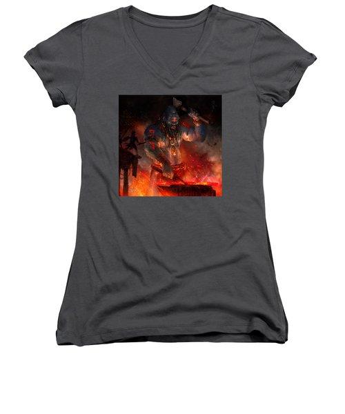 Maker Of The World Women's V-Neck T-Shirt