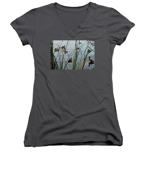 Mallard Migration Women's V-Neck
