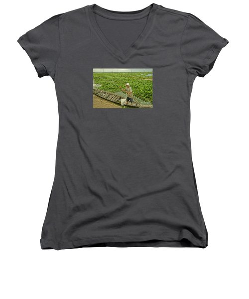 Man Of Daily Life Women's V-Neck T-Shirt