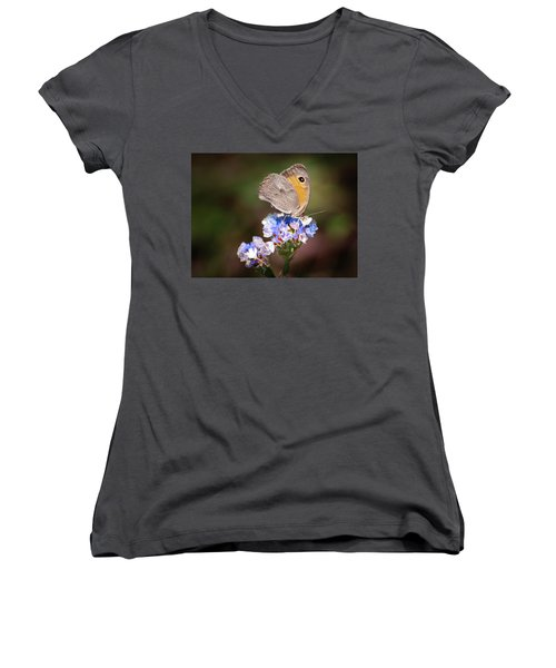 Maniola Telmessia Women's V-Neck T-Shirt