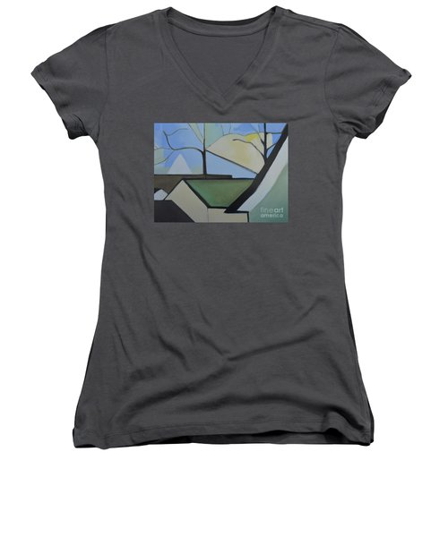Maplewood Women's V-Neck T-Shirt