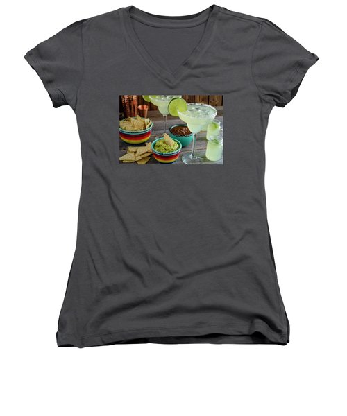 Margarita Party Women's V-Neck T-Shirt