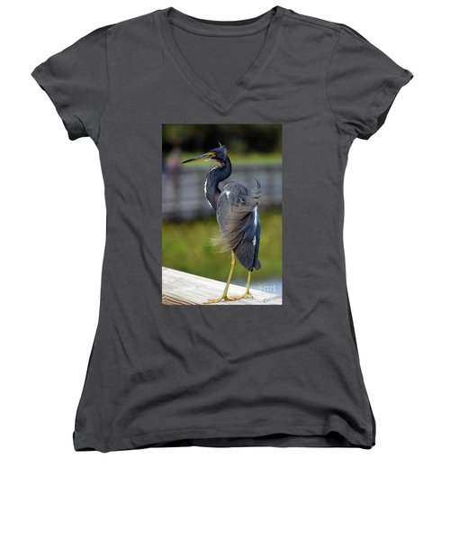 Marilyn-ed Women's V-Neck (Athletic Fit)