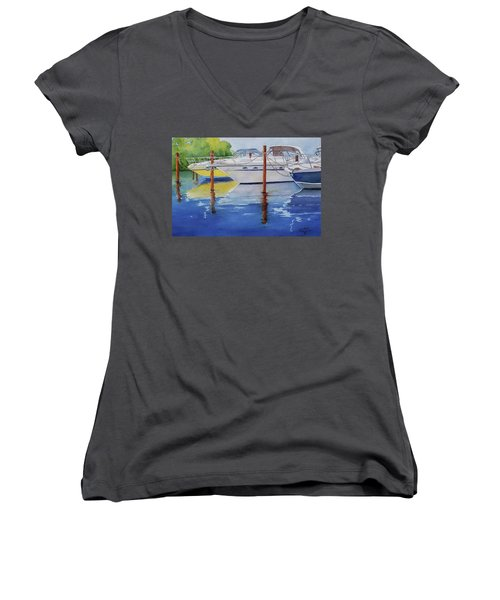 Marina Afternoon Women's V-Neck (Athletic Fit)