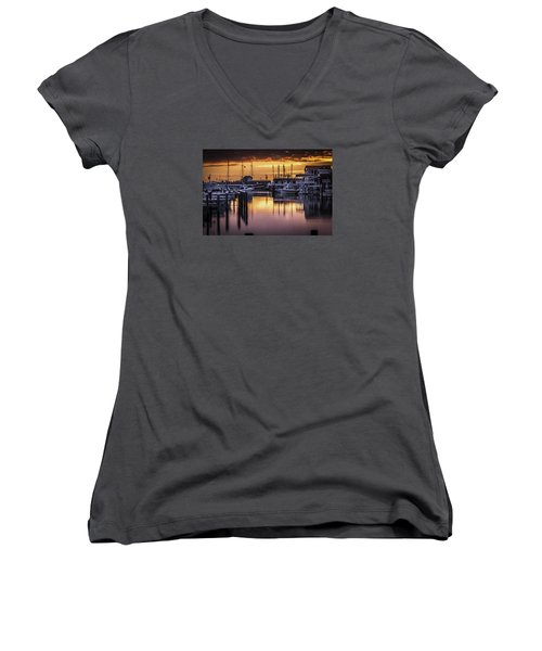 The Floating Sky Women's V-Neck