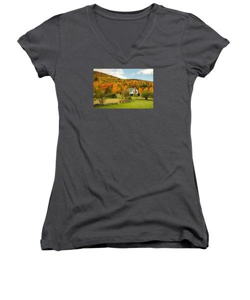 Marlboro Madness Women's V-Neck T-Shirt (Junior Cut)