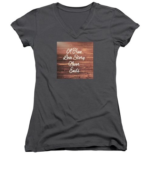 Marriage Motto Women's V-Neck T-Shirt