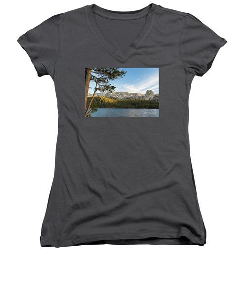 Marry Lake  Women's V-Neck (Athletic Fit)