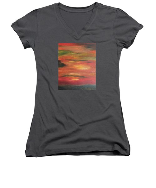Mars Landing Women's V-Neck T-Shirt