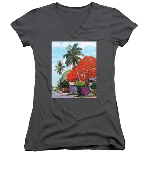Masons Addition II Women's V-Neck