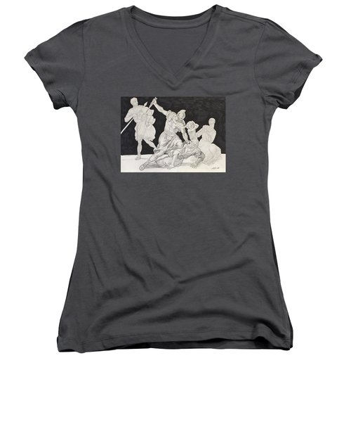 Masterstudy Women's V-Neck (Athletic Fit)