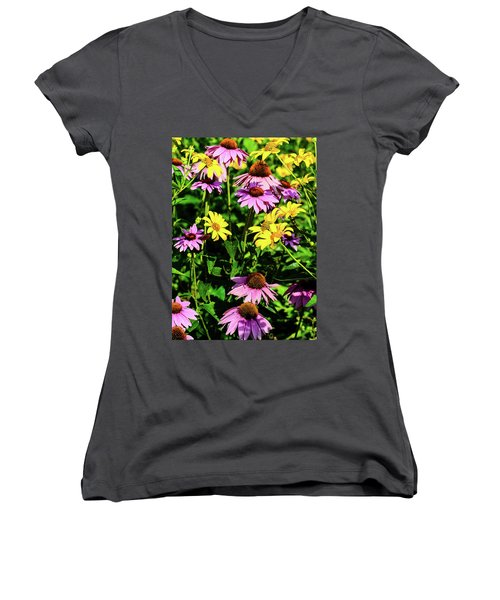May Flowers Women's V-Neck (Athletic Fit)