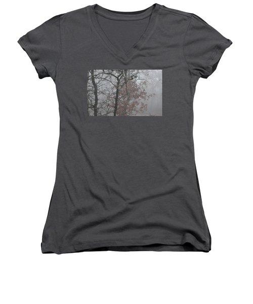 Women's V-Neck T-Shirt (Junior Cut) featuring the photograph May I Have The Next Dance by Carolina Liechtenstein