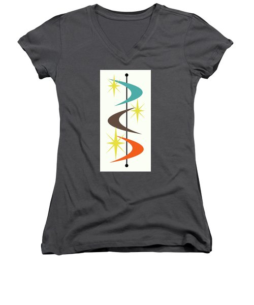 Mcm Shapes 2 Women's V-Neck T-Shirt