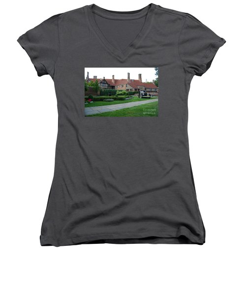 Meadowbrook Hall Women's V-Neck (Athletic Fit)