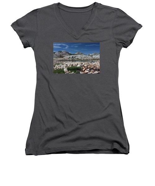 Medicine Bow Vista Women's V-Neck T-Shirt
