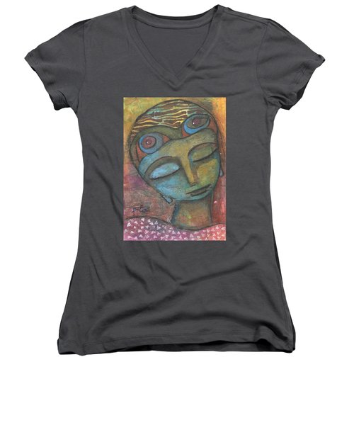 Meditative Awareness Women's V-Neck
