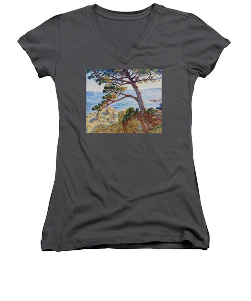 Mediterranean Sea Women's V-Neck T-Shirt