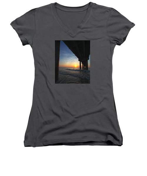 Meeting The Dawn Women's V-Neck