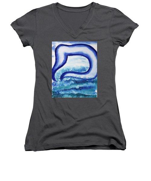 Mem In The Sea Women's V-Neck