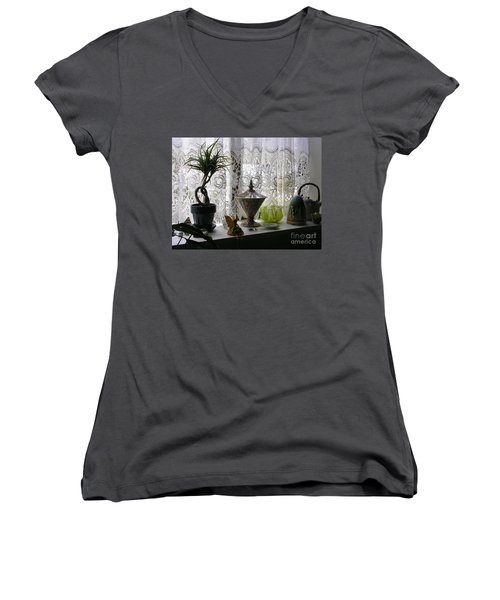 Memories Women's V-Neck