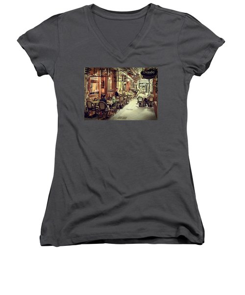 Memory Lane Arcanum Edition Women's V-Neck