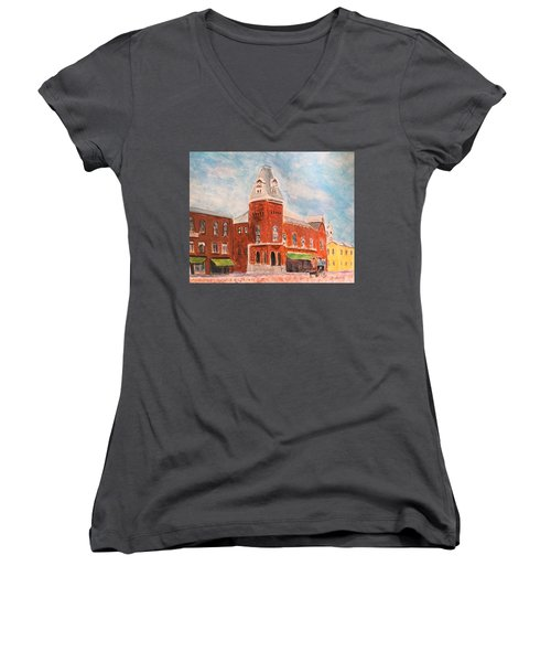 Merrimac Massachusetts Women's V-Neck