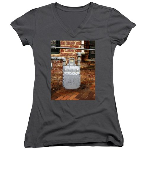 Meter II In Athens Ga Women's V-Neck (Athletic Fit)