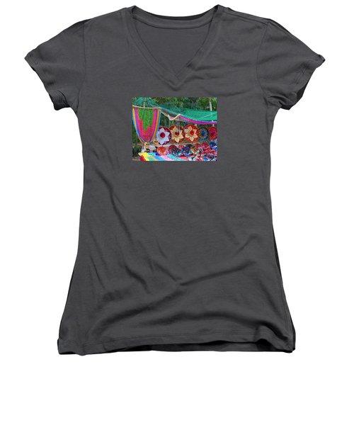 Mexico Sombrero Women's V-Neck T-Shirt
