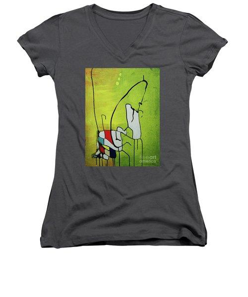 Mi Caballo Women's V-Neck T-Shirt