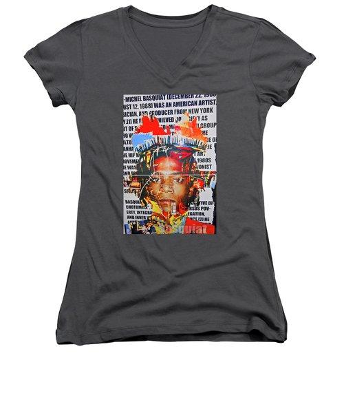 Michel Basquiat Women's V-Neck