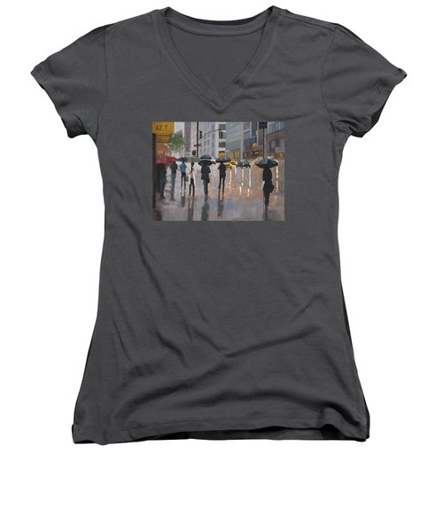 Mid Town Women's V-Neck (Athletic Fit)
