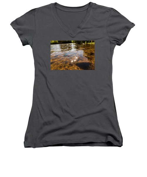 Middle Of The River Women's V-Neck