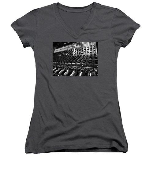 Midnight Affair Women's V-Neck T-Shirt (Junior Cut) by Gem S Visionary