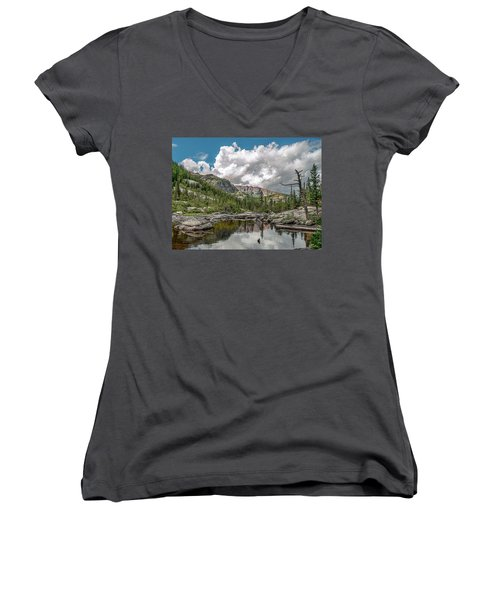 Mills Lake 5 Women's V-Neck (Athletic Fit)