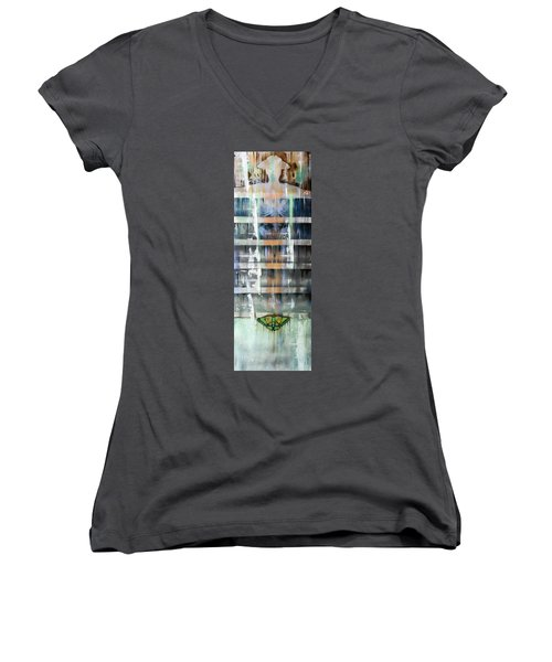 Mimicry Women's V-Neck T-Shirt