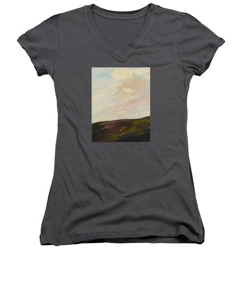Mindful Landscape Women's V-Neck