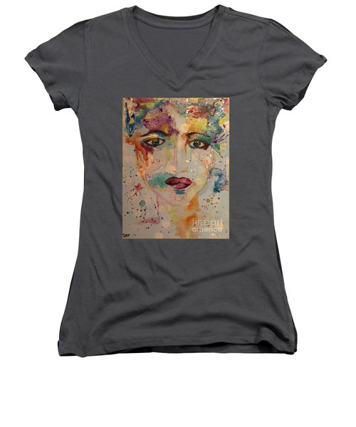 Minerva Women's V-Neck