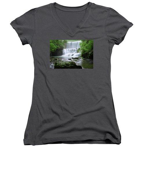 Mirror Lake Women's V-Neck T-Shirt