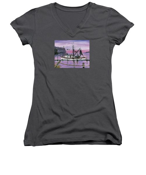Miss Kitty Women's V-Neck (Athletic Fit)