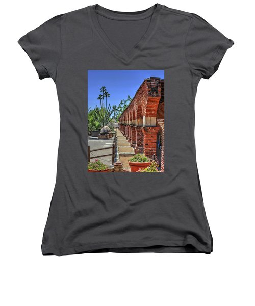 Mission Arches Women's V-Neck (Athletic Fit)