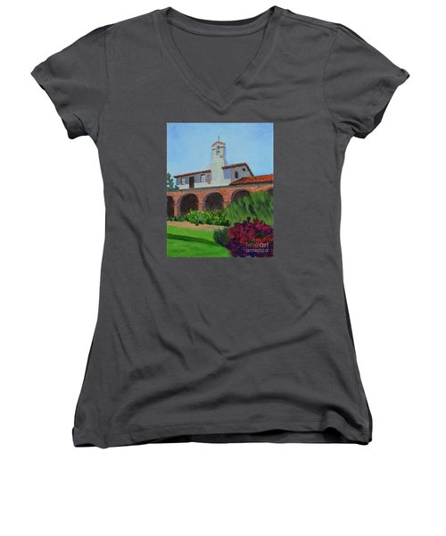 Mission San Juan Capistrano Women's V-Neck