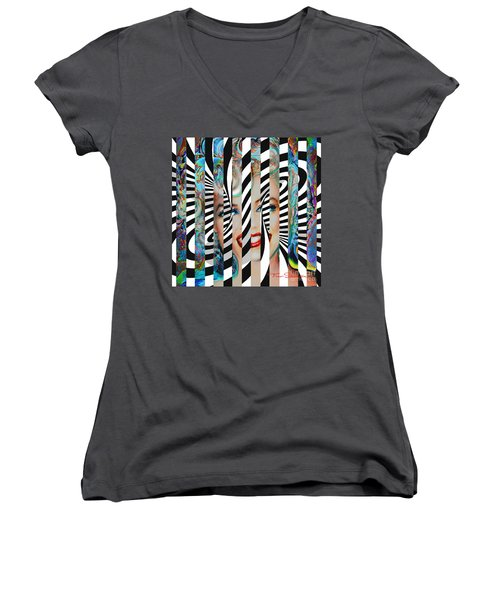 Mmother Of Pearl Sis 3 Women's V-Neck