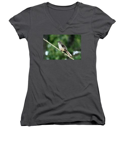 Mockingbird On Rope Women's V-Neck