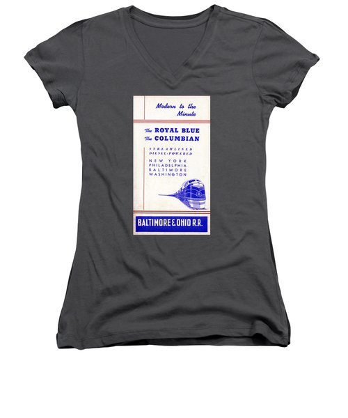 Modern To The Minute Women's V-Neck (Athletic Fit)