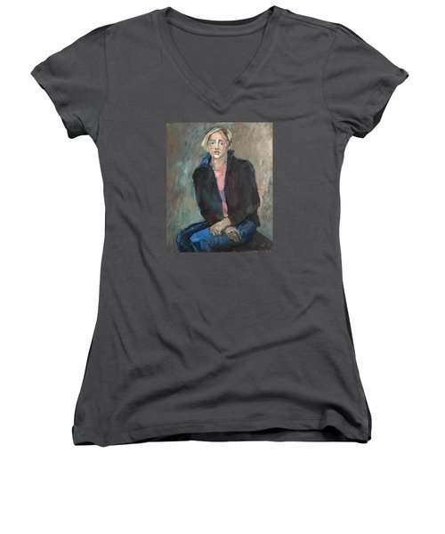 Modest Beauty Women's V-Neck T-Shirt