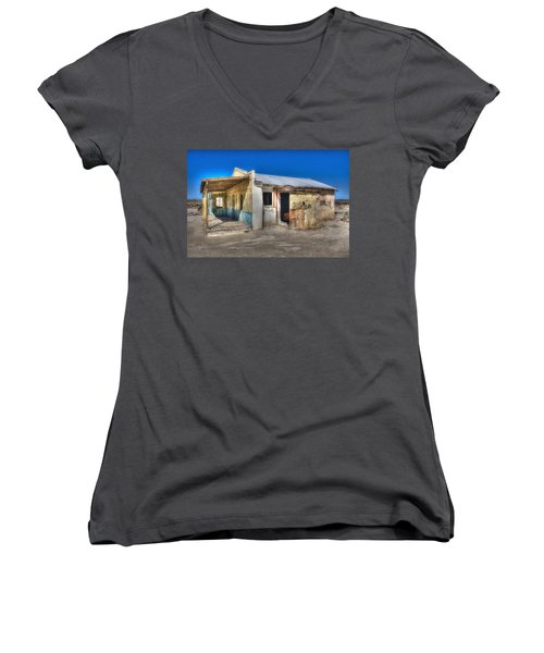 Mojave Times Women's V-Neck (Athletic Fit)