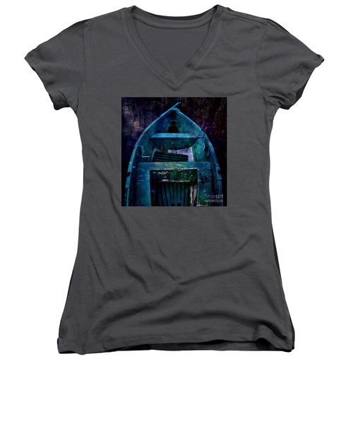 Momentarium Women's V-Neck T-Shirt