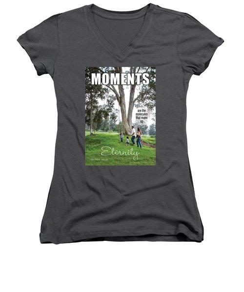 Moments Women's V-Neck